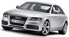 Перемычки на рейлинги Audi A4 B8 (2007-2015)