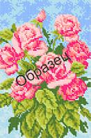 """Схема для вышивки бисером - """"Алые розы"""""""