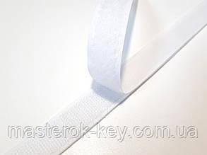 Липучка для одежды и обуви в бобине 2см цвет Белый