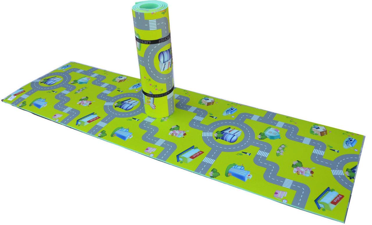 Коврик детский Дорога 1,80 м на 55 см 8 мм