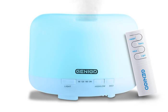 Арома-увлажнитель воздуха Geniod с пультом управления 500 мл (3012)