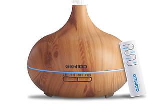Арома-увлажнитель воздуха Geniod с пультом управления 450 мл светлое дерево (3014)