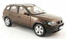 Поперечки на рейлінги BMW X3 E83 (2003-2010)