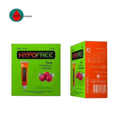 ГипоФри Клюквенный вкус (HYPOFREE) гель 1ХЕ