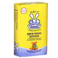 Ушастый нянь крем-мыло с оливковым маслом и ромашкой Невская косметика 90 г. (2402)