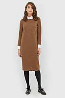 """Платье """"ANNES"""" коричневый осень"""