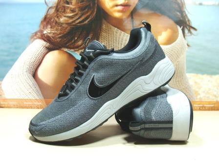 Мужcкие кроссовки Nike Air Zoom Spiridon репликасерые 43 р.