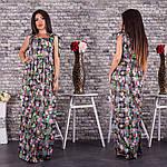 Женское платье в пол ботал, фото 4