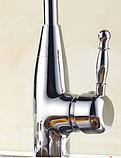 Смеситель для кухни высокий 1-071, фото 3