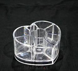 YRE Cotton Swabs Holder - Подставка SF-1057 Сердечко малое , фото 3