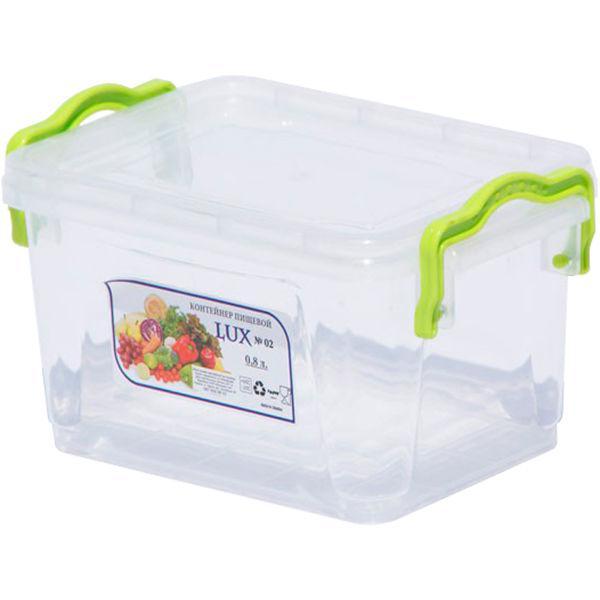 Пищевой контейнер с ручками 0,8 л  AL-PLASTIK Lux №2