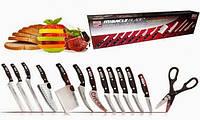 Набор ножей Miracle Blade World Class Мирэкл Блэйд 12 шт и ножницы