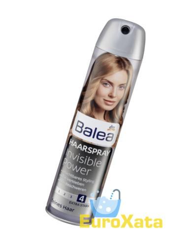 Лак для волос Balea Haarlack Invisible power 4 (300 мл) Германия