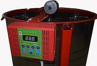 Медогонка 4-х рам. С горизонтальным электроприводом на подставке!Нержавейка, кассеты оцинкованные.Модель 1 и 2