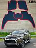 Коврики на Mitsubishi Pajero Sport '16-. Автоковрики EVA