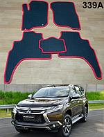 Коврики на Mitsubishi Pajero Sport '16-. Автоковрики EVA, фото 1