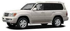 Поперечины на рейлинги Lexus LX 470 (1998-2007)