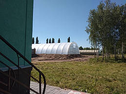 Теплица 10*40 пгт. Пулины  Житомирская область Июль 2018 г 7