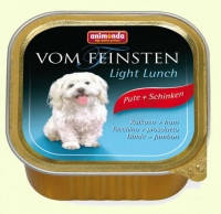 Консервы для собак Animonda Vom Feinsten Light Lunch с индейкой и ветчиной, 150 гр
