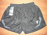 Шорты мужские. Adidas. Плащевка. р. M-XXXL. Черные, фото 1