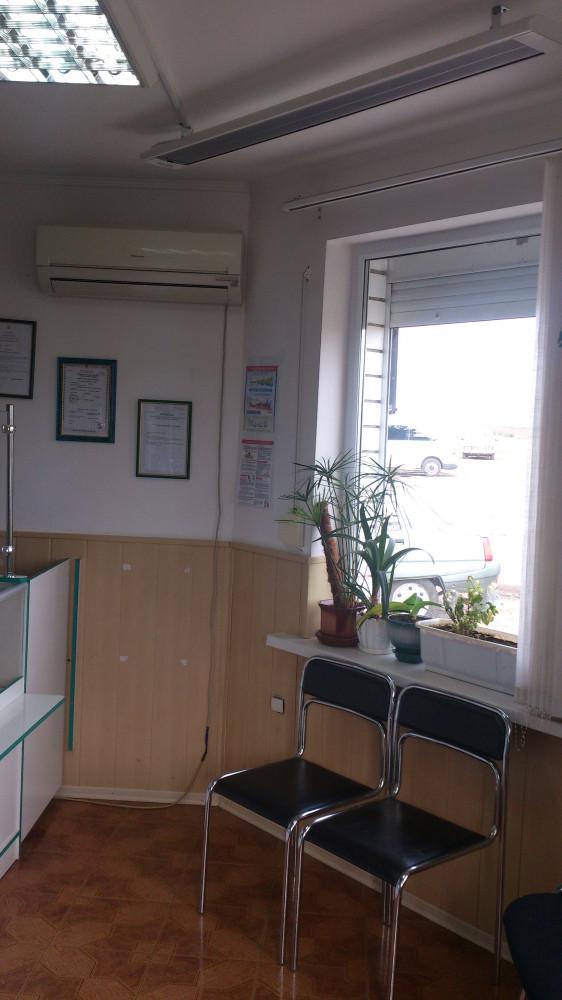 Обогреватель электрический потолочный
