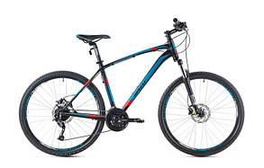 """Велосипед SPELLI SX-5700 650B (19"""") черно синий с красным"""
