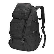Рюкзак брезентовый мужской камуфляжный для активного отдыха. Туристические рюкзаки. 35 л, фото 2