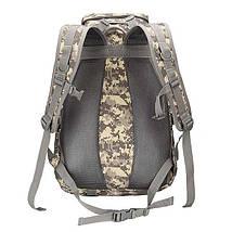 Рюкзак брезентовый мужской камуфляжный для активного отдыха. Туристические рюкзаки. 35 л, фото 3