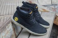 Мужские кожаные зимние кроссовки ботинки Timberland, фото 1