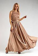 Вечернее платье с поясом