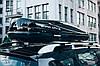Бокс на крышу Terra Drive 480 л черный глянцевый правосторонний