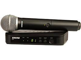 Радіомікрофон (радіосистема) SHURE BLX24/PG58
