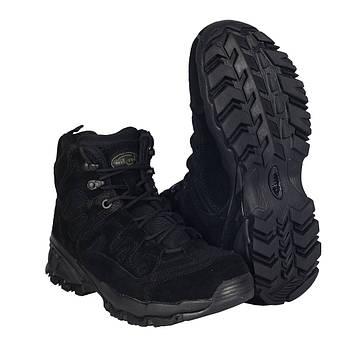 Ботинки тактические черные Милтек