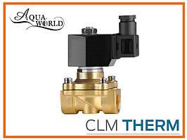 Электромагнитный клапан AquaWorld 1/2 (15) 220В нормально закрыт