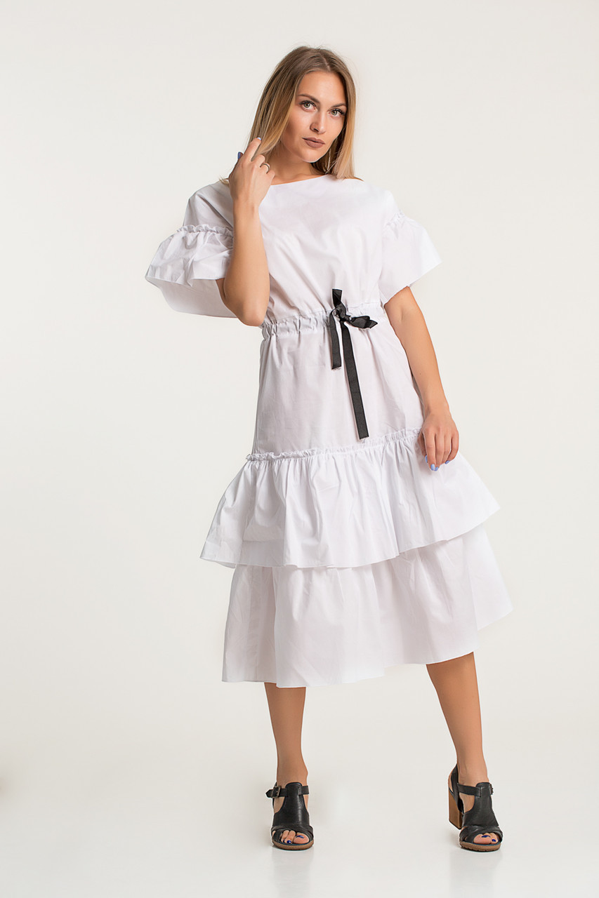 Платье LiLove 414 44 белый