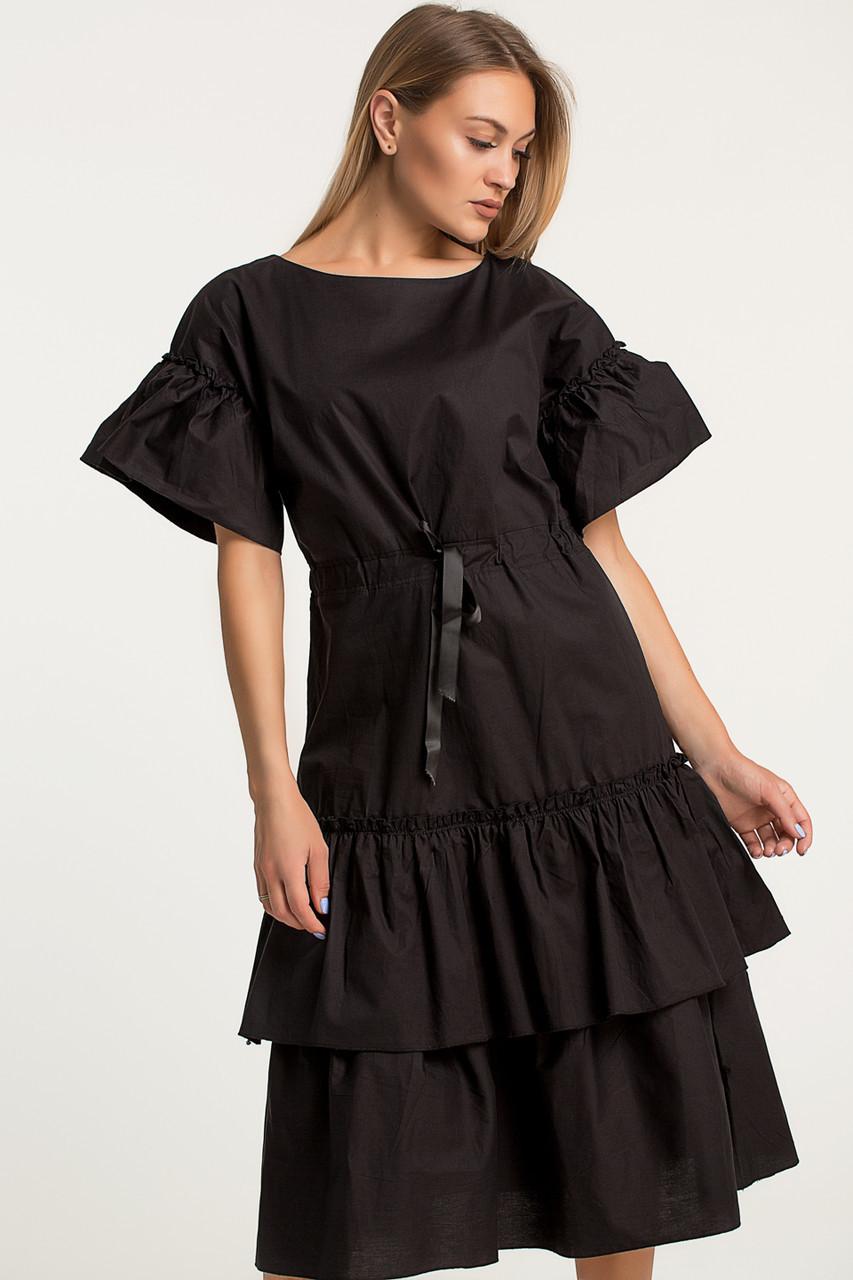 Платье LiLove 414-1 44 черный