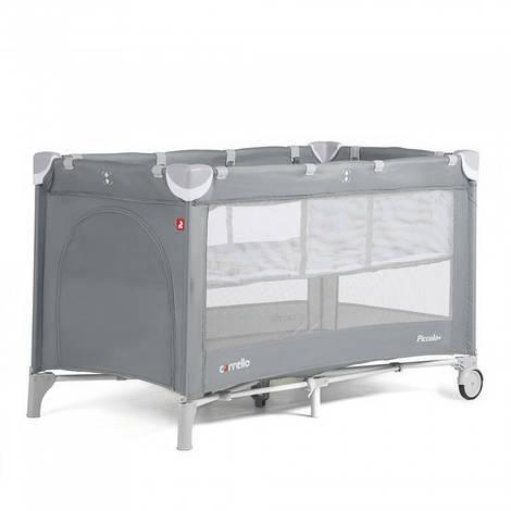 Манеж-кровать CARRELLO Piccolo+ CRL-9201 Ash Grey