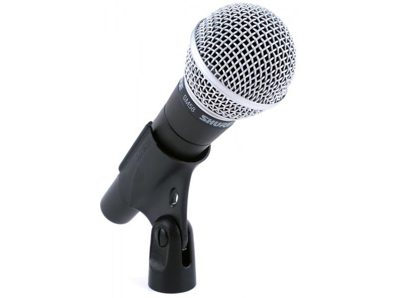 Професійний вокальний динамічний мікрофон SHURE SM58 SE