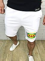 Бриджи мужские Gucci D3576 белые