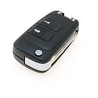Заготовка (корпус) выкидного ключа Chevrolet Epica 2 кнопки