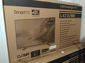 """Телевизор Smart TV LED L 40"""", Android,2GB, 8GB WiFi, DVB T2 DVB-C Full HD Смарт ТВ"""