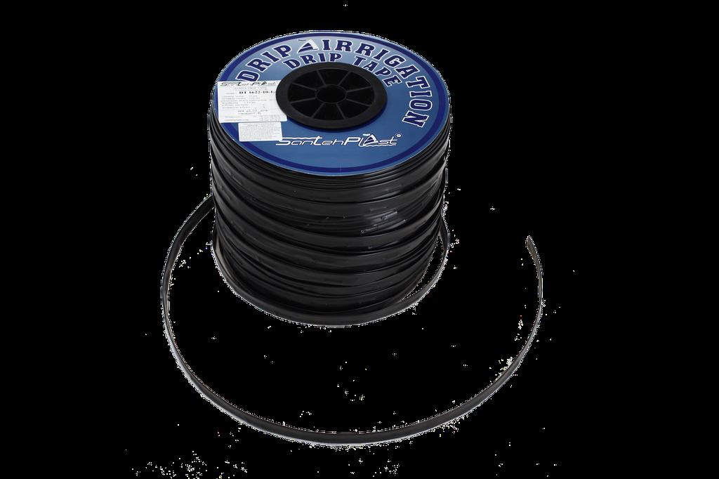 Лента для капельного полива SANTEHPLAST с плоским эмиттером (раст. между эмиттерами 20 см) 1000 м 0.8L