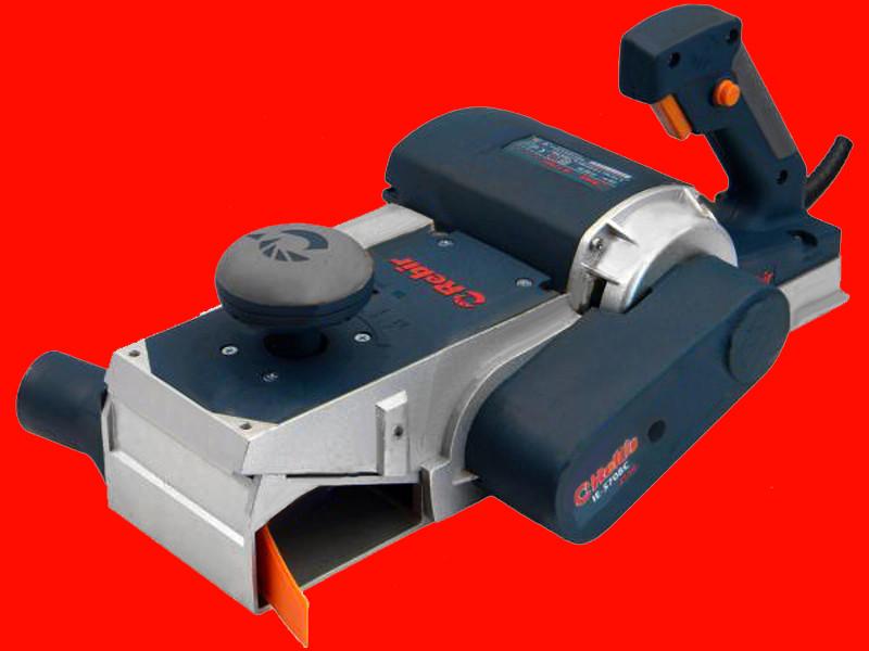 Электрический рубанок ширина строгания 110 мм Rebir IE-5708C