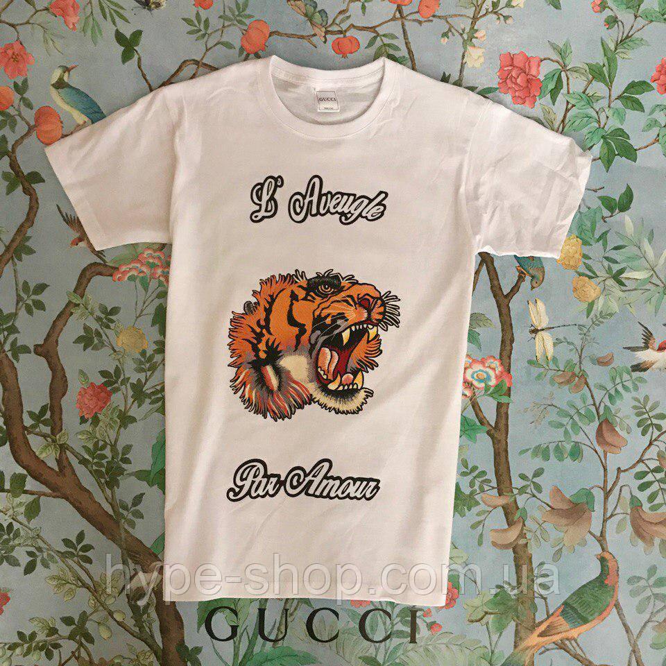 Женская футболка в стиле Gucci | Топ Качество