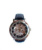 Часы механика скелетон  Winner