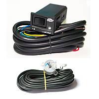 Комплект переключатель SGV универсальный карбюраторный и инжекторный с индикацией уровня газа + датчик уровня