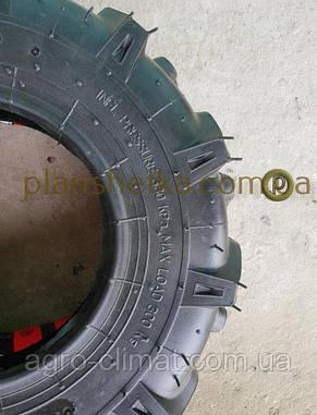 Резина на мотоблок 4.00-8 6 PR Premium с камерой, фото 2