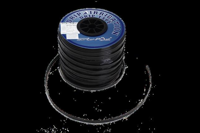 Лента для капельного полива SANTEHPLAST с плоским эмиттером (раст. между эмиттерами 30 см) 1000 м,1,4 L, фото 2
