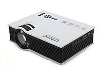 Портативный 3D проектор   UNIC UC40 для домашнего кинотеатра мультимедиа  Full HD