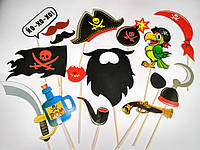 Фотобутафория Пиратская, 16 предметов